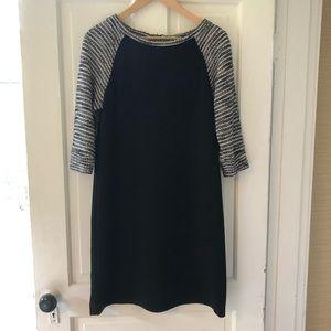 LOFT Dresses - Loft Black and Gray Dress in Size 4